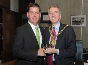 Courtesy Call Lord Mayor Mairtin O Muilleoir