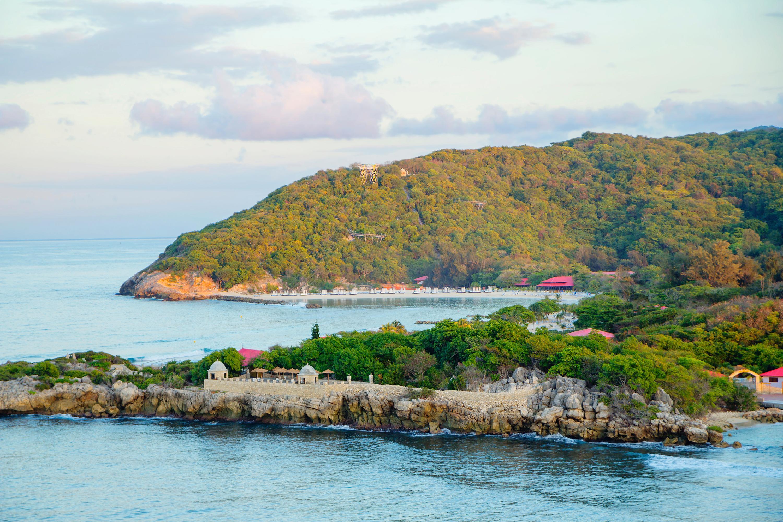 Haiti, and island in the Caribbean region
