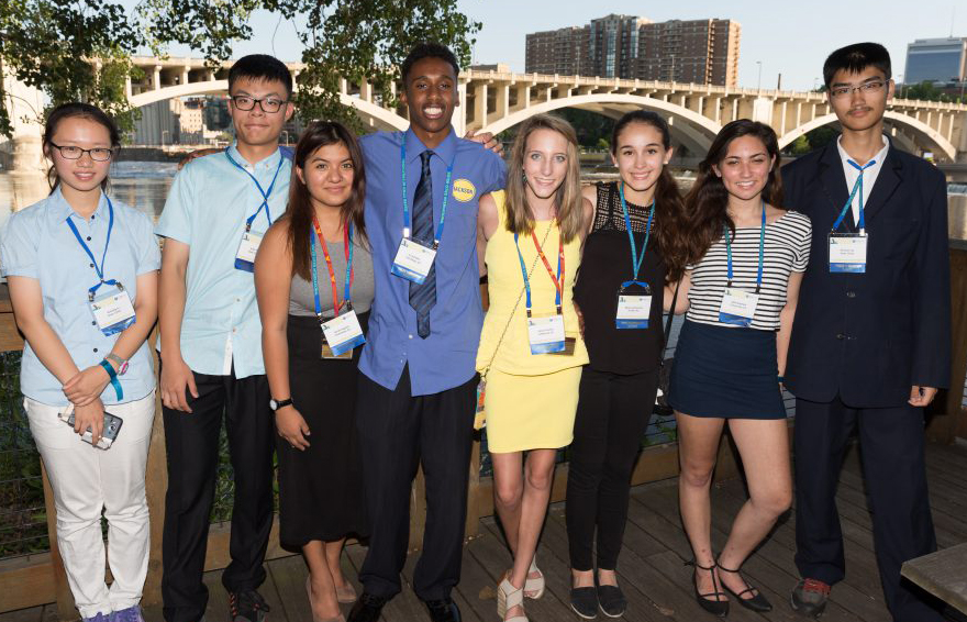 SCI 2015 Annual Conference in Minneapolis with Youth Leadership Summit Participants