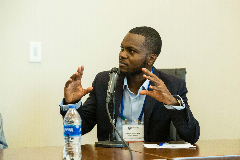 Creighton Moxey Speaks at the Social Entrepreneurship Panel