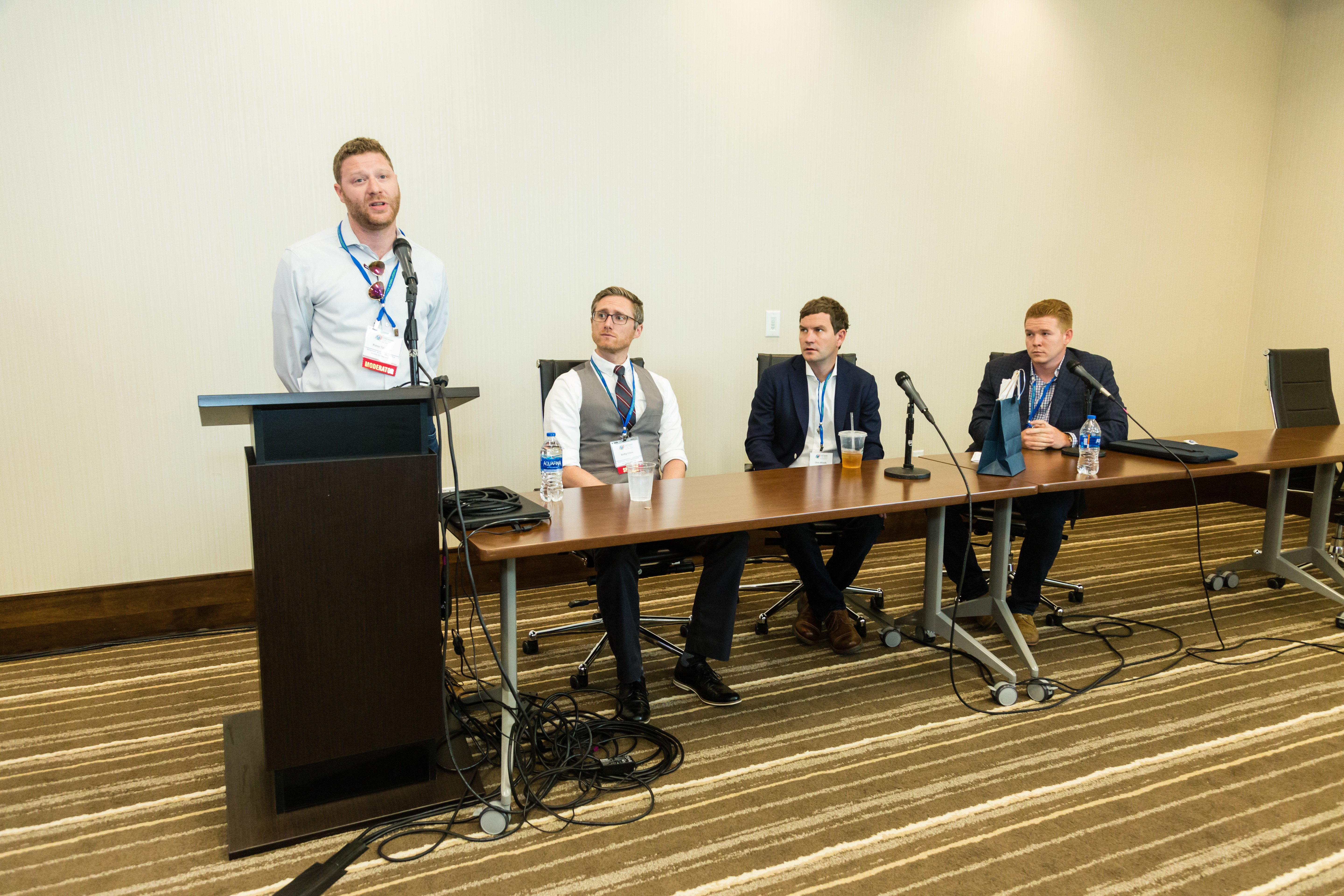 Speakrs at the Modern Day Gold Rush Panel