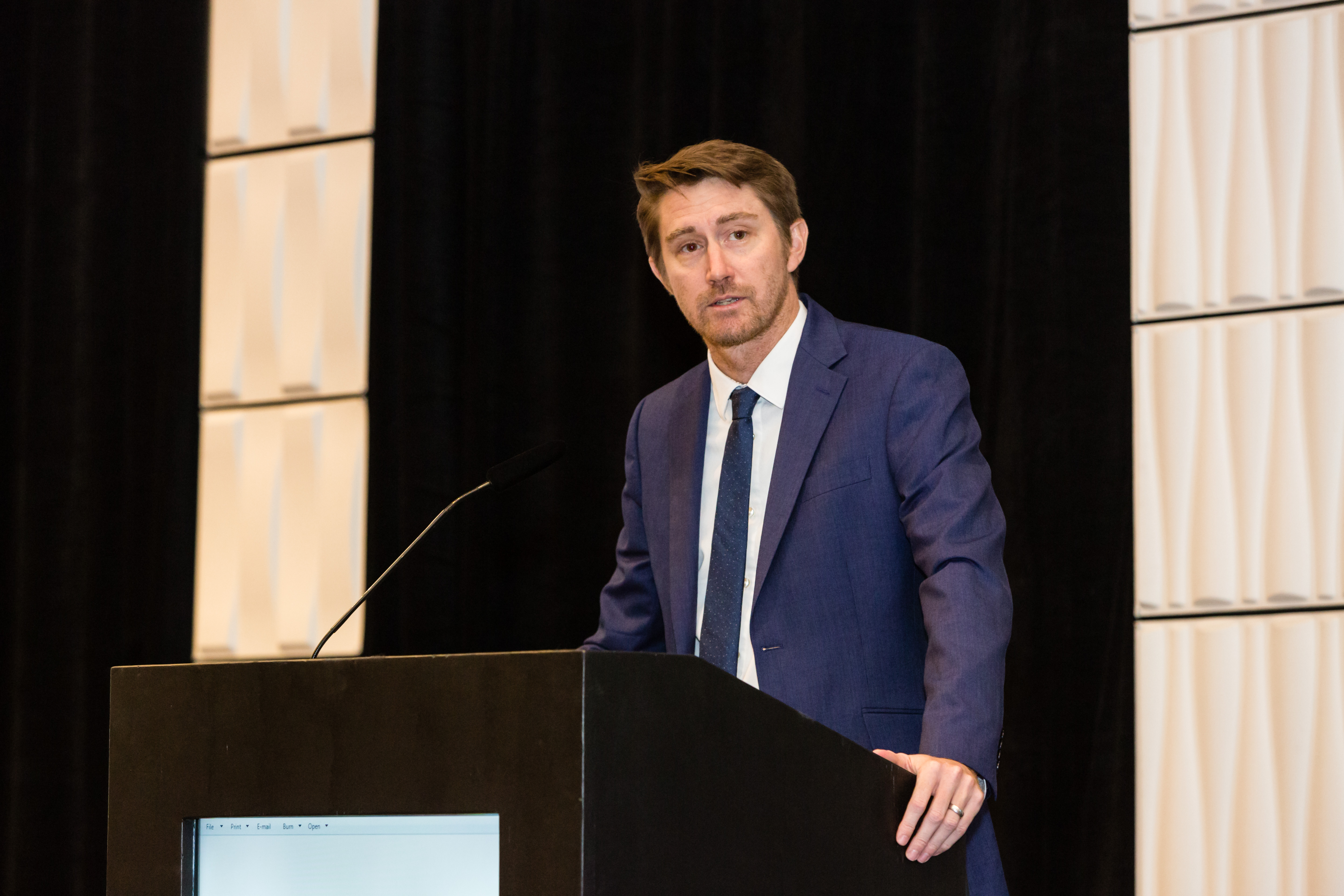 Derran Moss Gives Keynote at 2018 Annual Conference