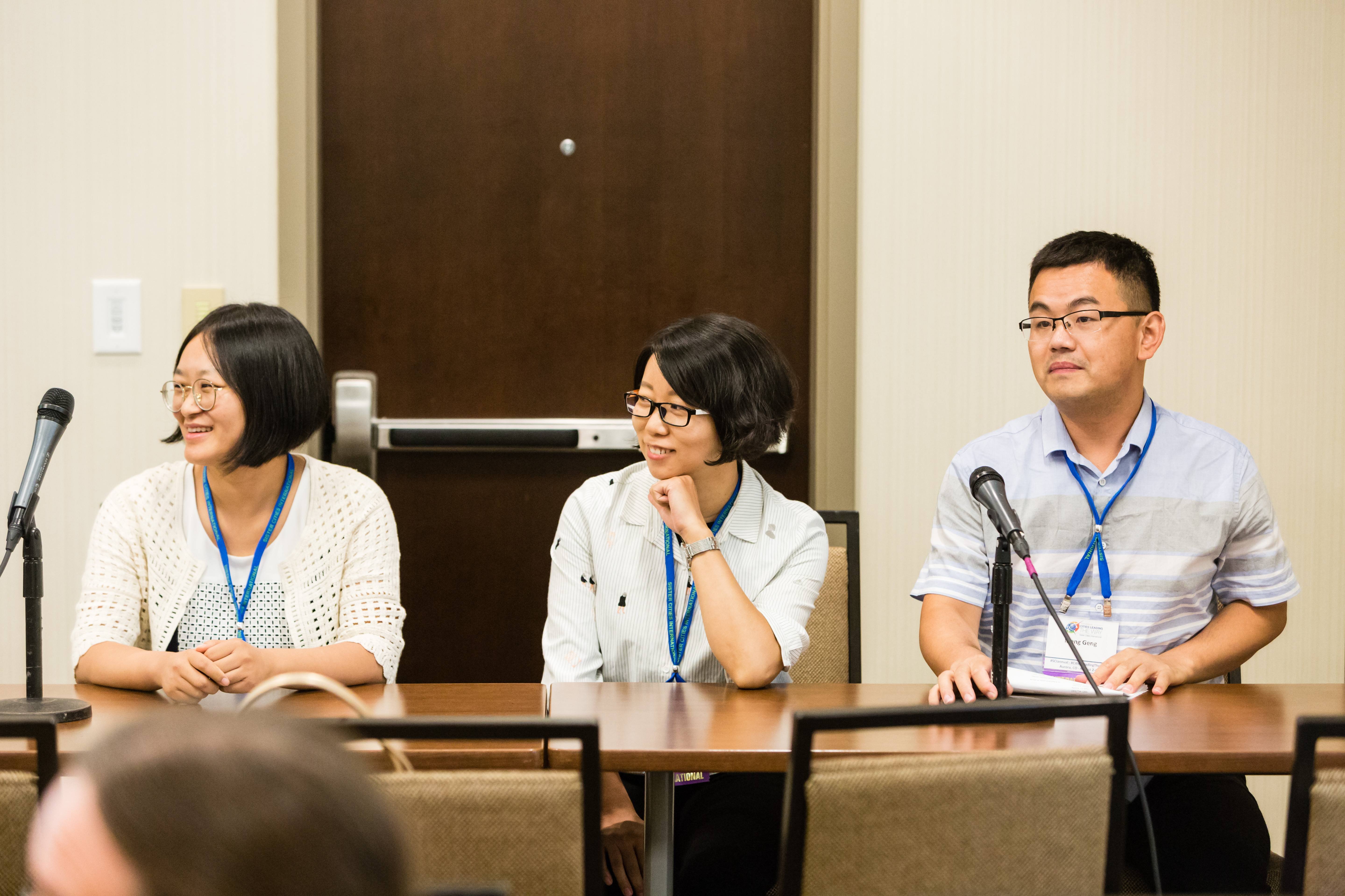 Speakers at he Educational Opportunities on the Silk Road Panel